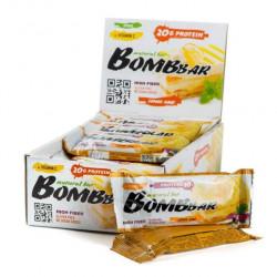 Батончик Bombbar Глазированный 20 60 г, 20 шт., лимон