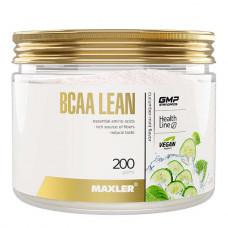 Maxler BCAA Lean Vegan + Fibers 200 г огурец-мята