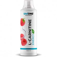 "Л-карнитин и гуарана UniONE L-Carnitine Energy ""Малина"" - 1000 мл"