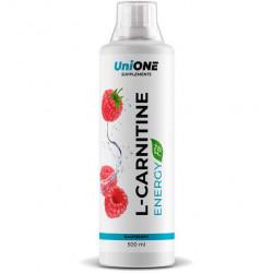 "Л-карнитин и гуарана UniONE L-Carnitine Energy ""Малина"" - 500мл"