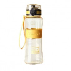 Бутылка для воды и спортивных напитков DIBE 450 мл желтая
