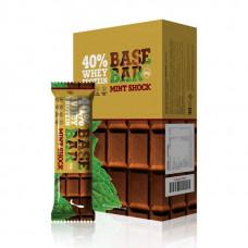 Батончики Base Bar протеиновые 60г Шоколад-мята - коробка 20шт