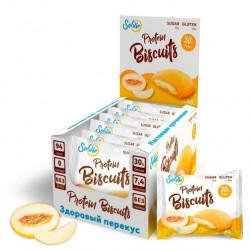 Печенье Solvie Protein Biscuits Дыня 40г - коробка 10шт