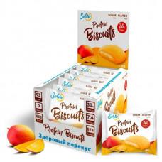 Печенье Solvie Protein Biscuits Манго 40г - коробка 10шт