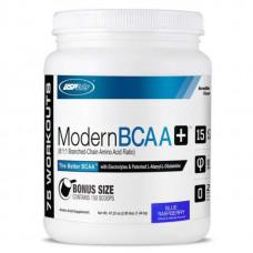 USPlabs Modern BCAA+ - 1340 грамм, голубая малина