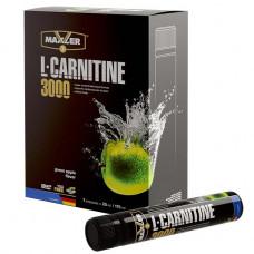 """Л-карнитин MAXLER L-Carnitine 3000 """"Зеленое яблоко"""" - 7 штук по 25 мл"""
