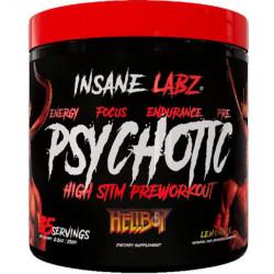 """Предтренировочный комплекс INSANE LABZ Psychotic Hellboy Edition """"Ежевика"""" - 30 порций"""