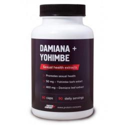 Дамиана + йохимбе Protein.Company Damiana + yohimbe 90 капсул