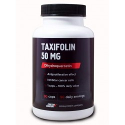 Дигидрокверцетин 95% Protein.Company Taxifolin 50 mg 90 капсул