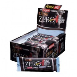 Power Pro Батончики Cube ZERO 50 г, 20 шт, вкус: кокос