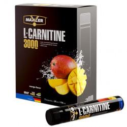 "Л-карнитин MAXLER L-Carnitine 3000 ""Манго"" - 7 ампул по 25 мл"