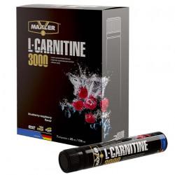 """Л-карнитин MAXLER L-Carnitine 3000 """"Черника-малина"""" - 7 ампул по 25 мл"""