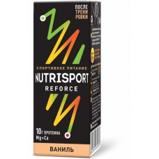 NUTRISPORT REFORCE cо вкусом ванили упаковка, 18.00 шт.