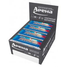 Протеиновый батончик Арена Батарейка с креатином, шоколад, 24 шт